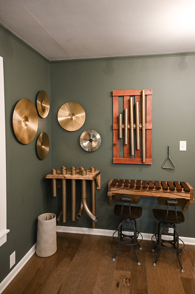HGTV Fixer to Fabulous Music Room Renovation