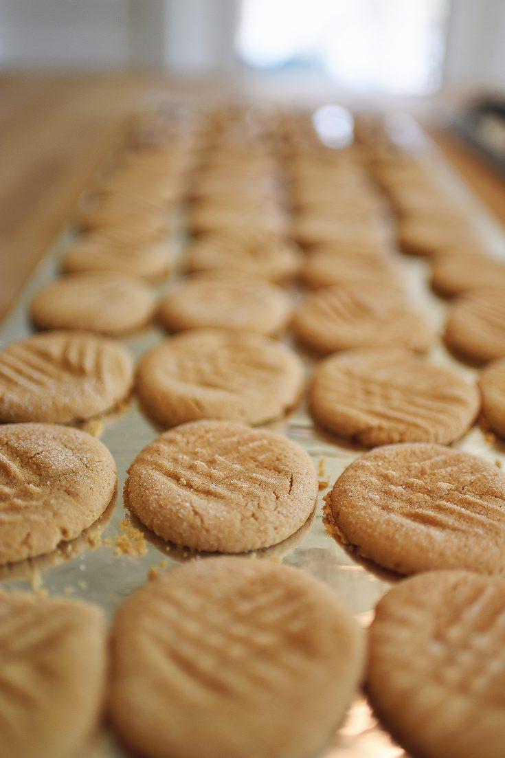 Grandma Marrs' Peanut Butter Cookies
