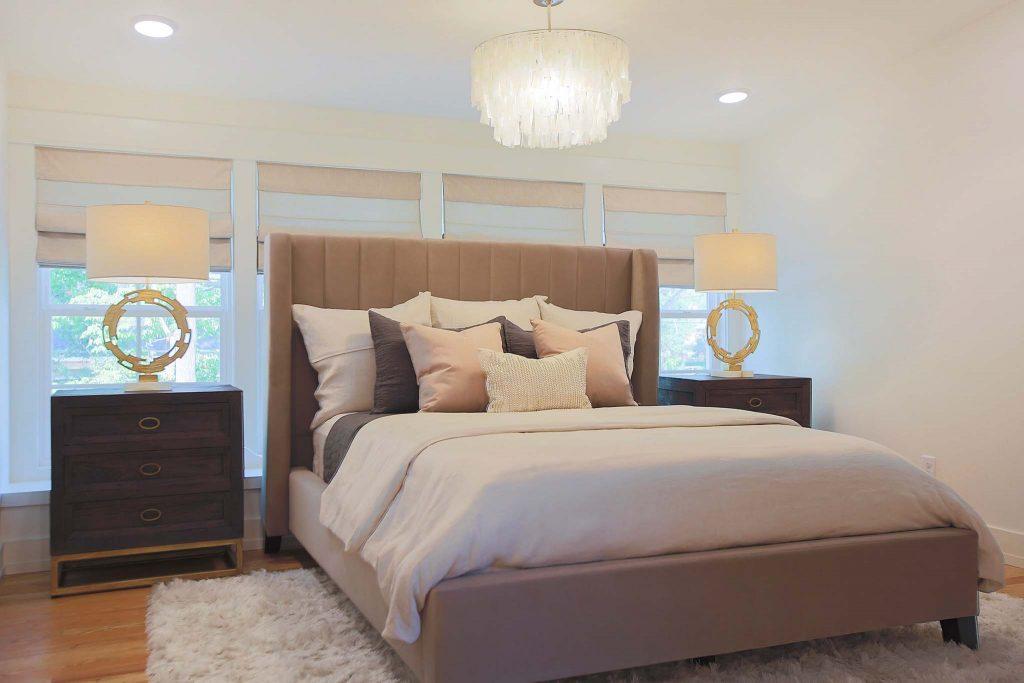 Master Bedroom renovation on HGTV Fixer to Fabulous.